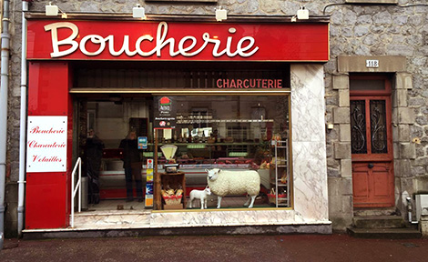 Boucher, boucherie